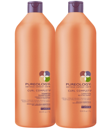 Curl Complete Sulfate Free Shampoo And Conditioner Liter Duo