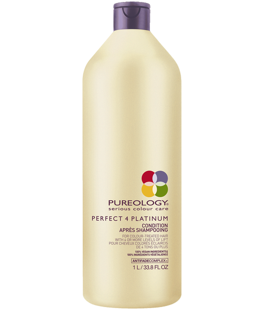 Perfect 4 Platinum Conditioner Liter for Blonde, Color-treated Hair