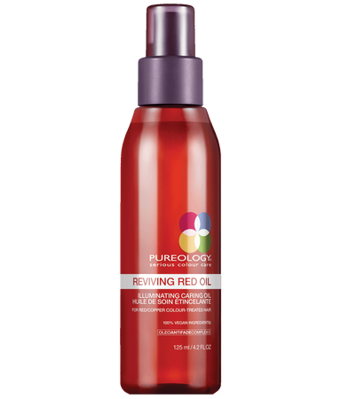 Reviving Red Illuminating Caring Hair Oil