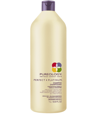 Perfect 4 Platinum Shampoo Liter for Blonde, Color-treated Hair