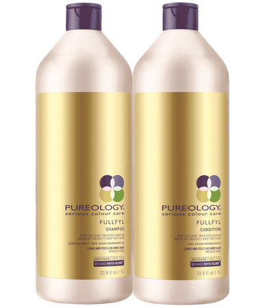 Fullfyl Sulfate Free Shampoo And Conditioner Liter Duo