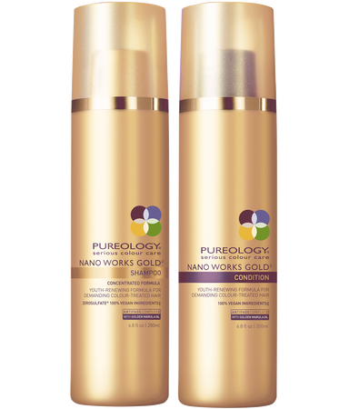 Nano Works Gold Shampoo + Condition Duo