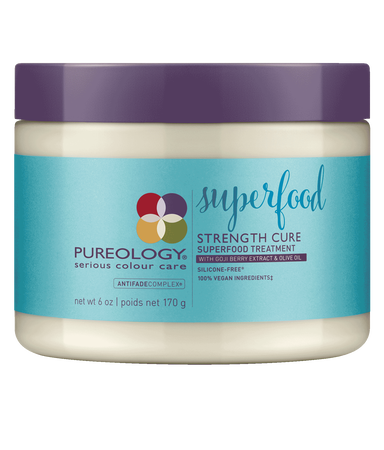 Pureology Strength Cure Superfood Treatment Strengthening Hair Mask for Damaged Hair