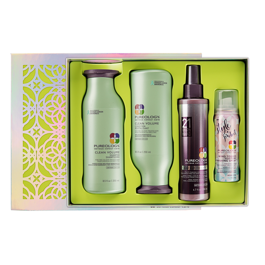 Clean Volume Holiday Kit