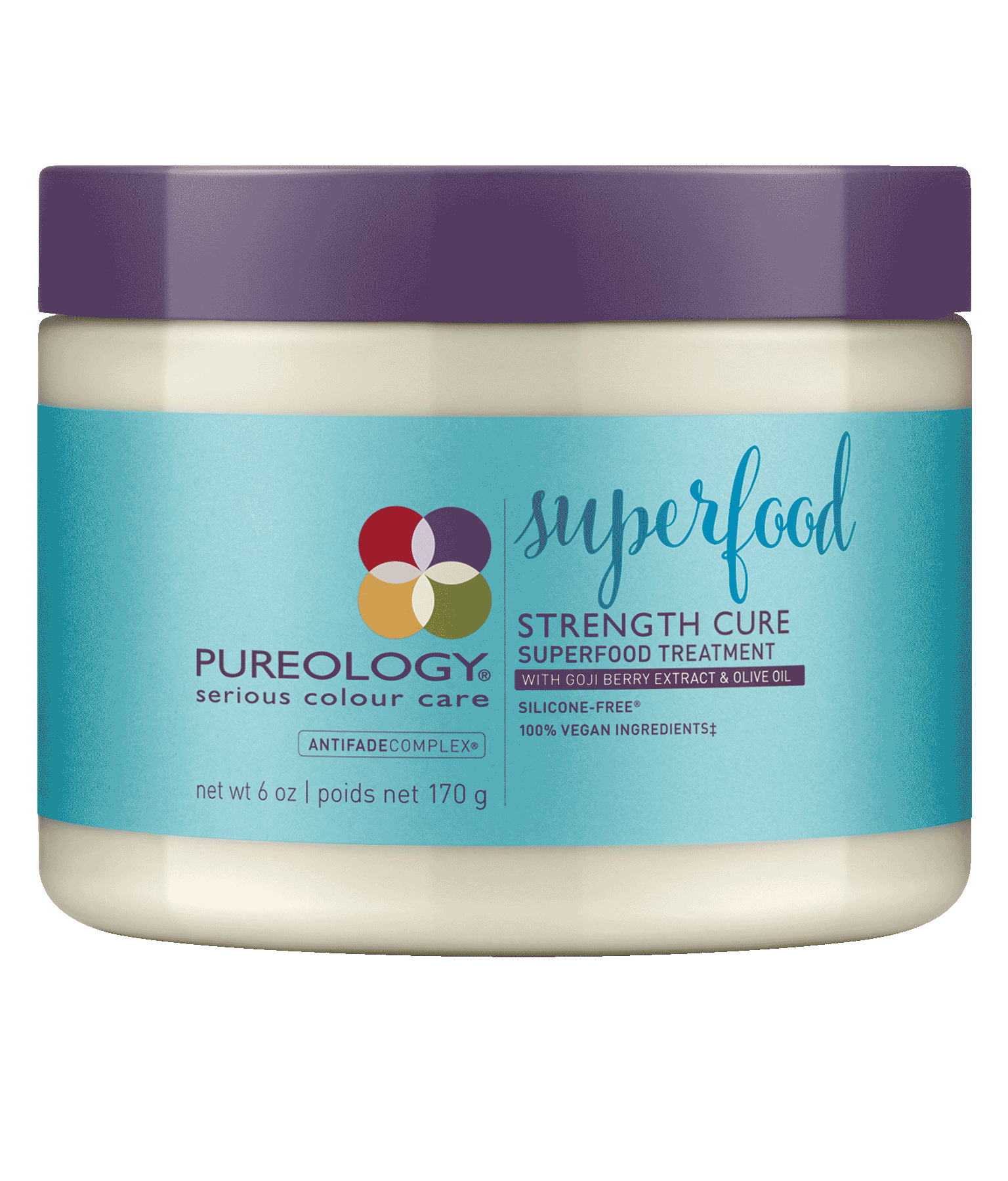 Strength Cure Superfood Treatment Mask For Damaged Hair Pureology