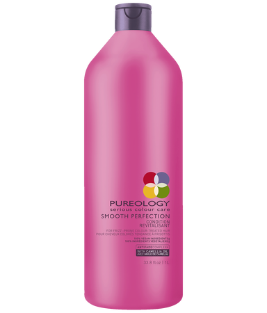 Smooth Perfection Conditioner Liter Size for Frizzy, Color-treated Hair
