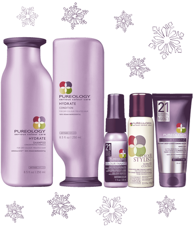 Pureology Hydrate Holiday Hair Product Gift Set