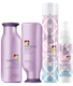 Pureology Beach Waves for Days Styling Product Set for Beachy, Tousled Waves