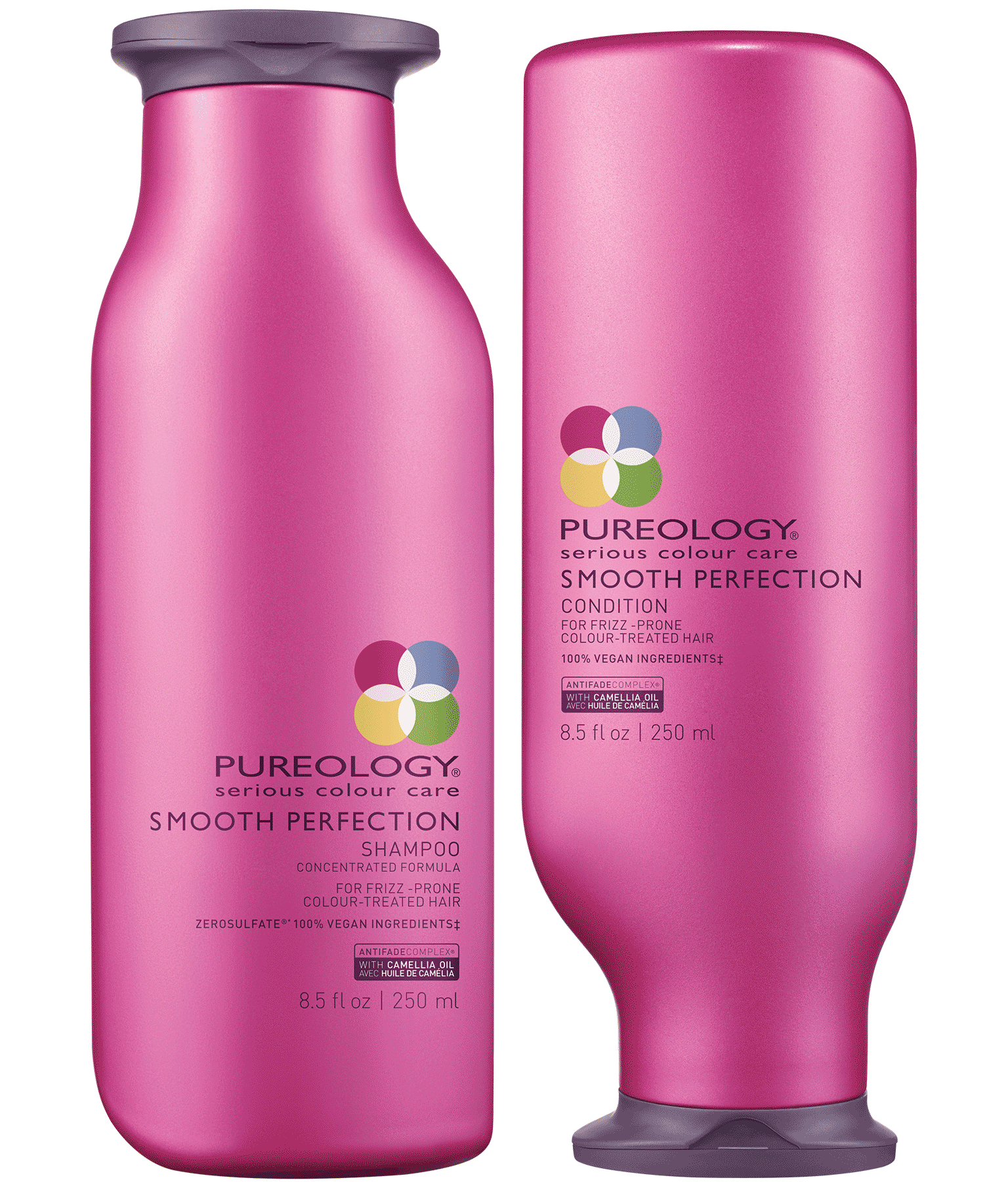 Smooth Perfection Anti Frizz Shampoo Conditioner Duo Pureology