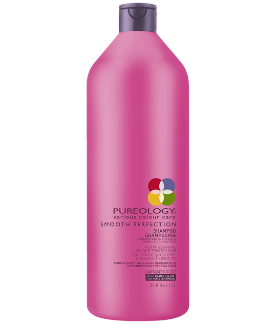 Smooth Perfection Sulfate Free Anti-Frizz Shampoo Liter - Pureology