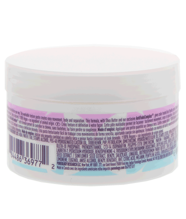 Shop Pureology Mess It Up Texture Hair Paste with Shea Butter for Hair for Color-treated or Natural Hair Back of Product