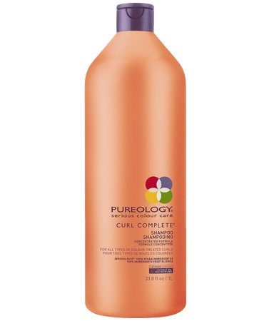 Curl Complete Sulfate Free Shampoo Liter For Curly Hair