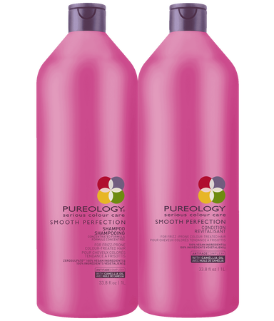 Smooth Perfection Sulfate Free Shampoo And Conditioner Liter Duo