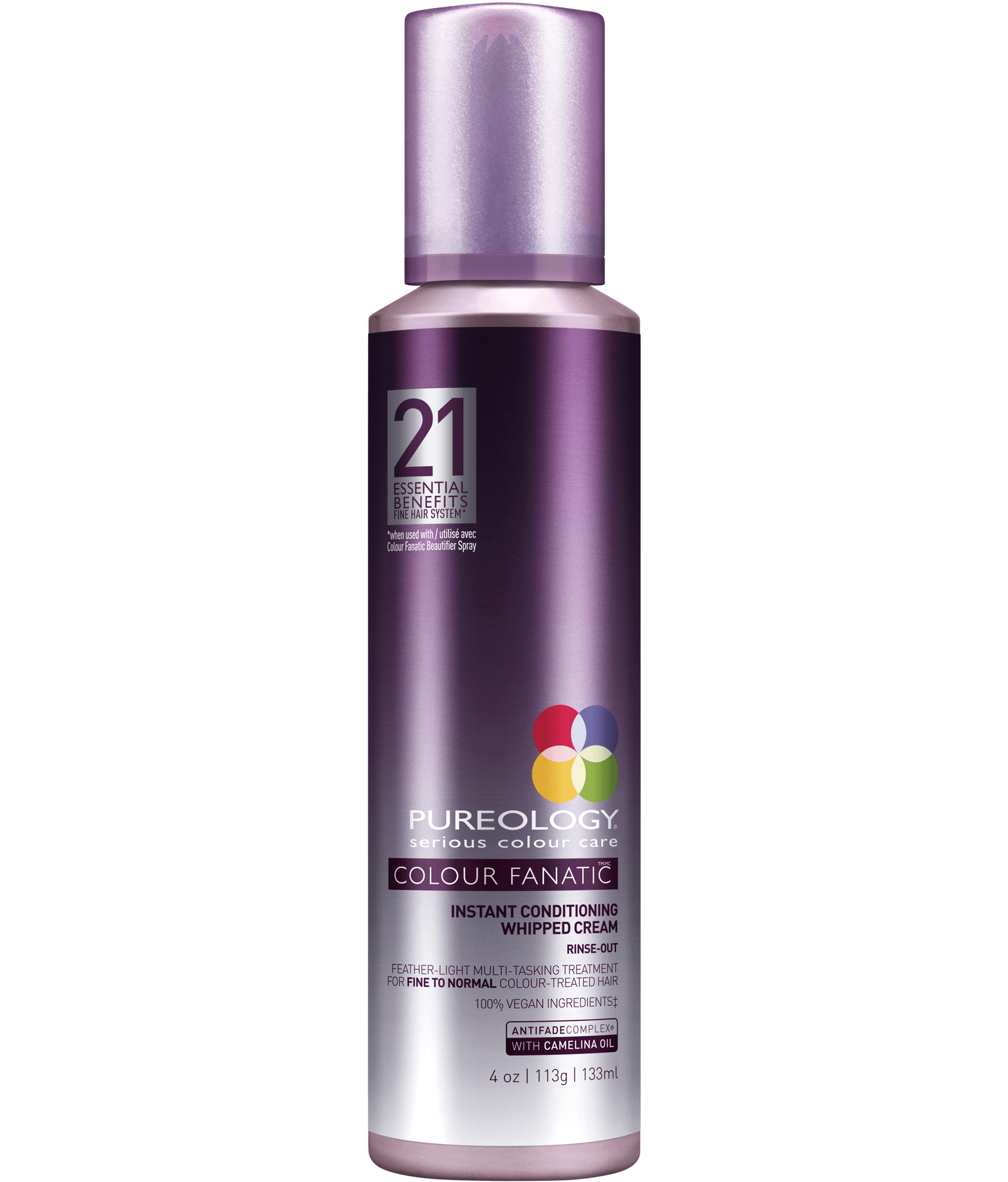 Colour Fanatic Conditioning Whipped Hair Cream Retail Size Pureology