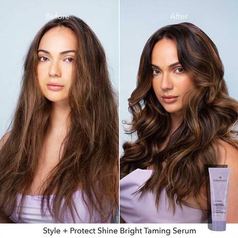 Style + Protect Shine Bright Taming Serum