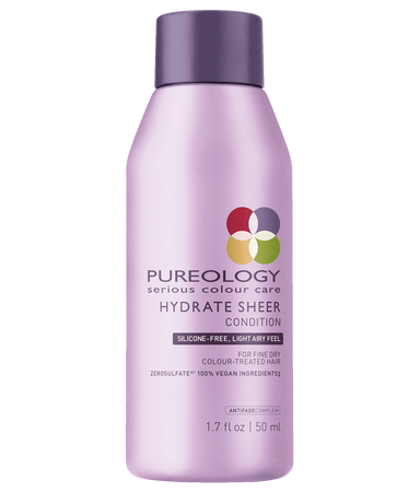 Pureology - Travel Size Hydrate Sheer Conditioner for Fine and Dry, Color-Treated Hair