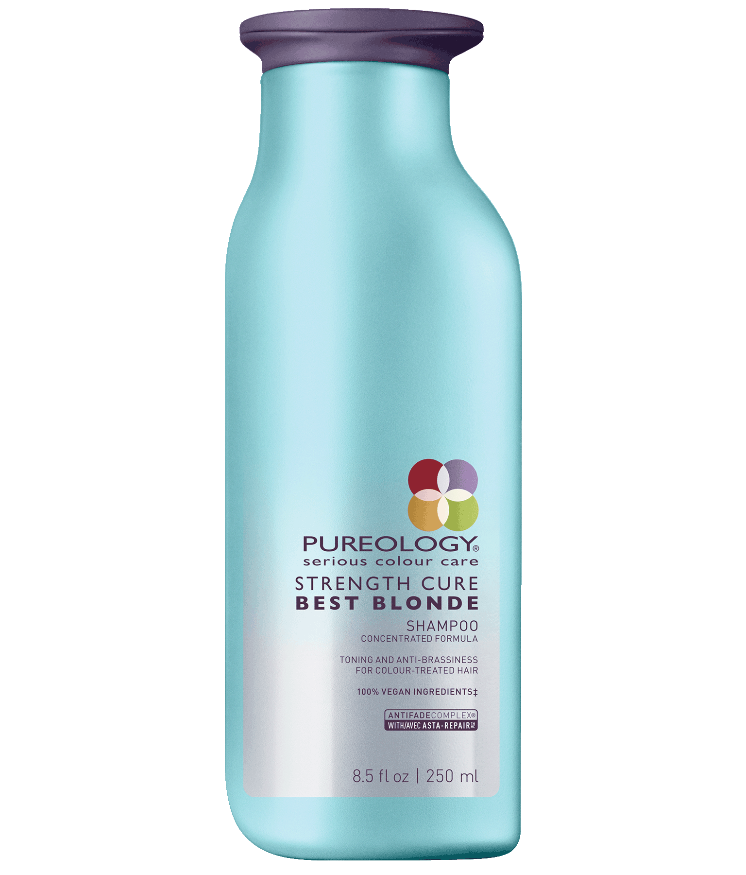 Strength Cure Best Blonde Purple Shampoo For Blonde Hair Pureology