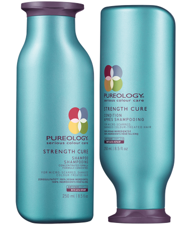 Strength Cure Sulfate Free Shampoo And Conditioner Duo