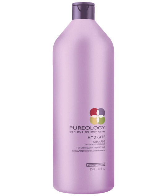 Hydrate Sulfate-Free Shampoo Liter for Dry, Color-treated Hair