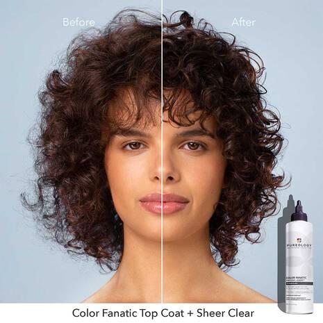 Color Fanatic Top Coat + Sheer Clear