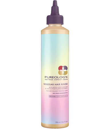 Pureology Vinegar Hair Rinse made with apple cider vinegar for hair