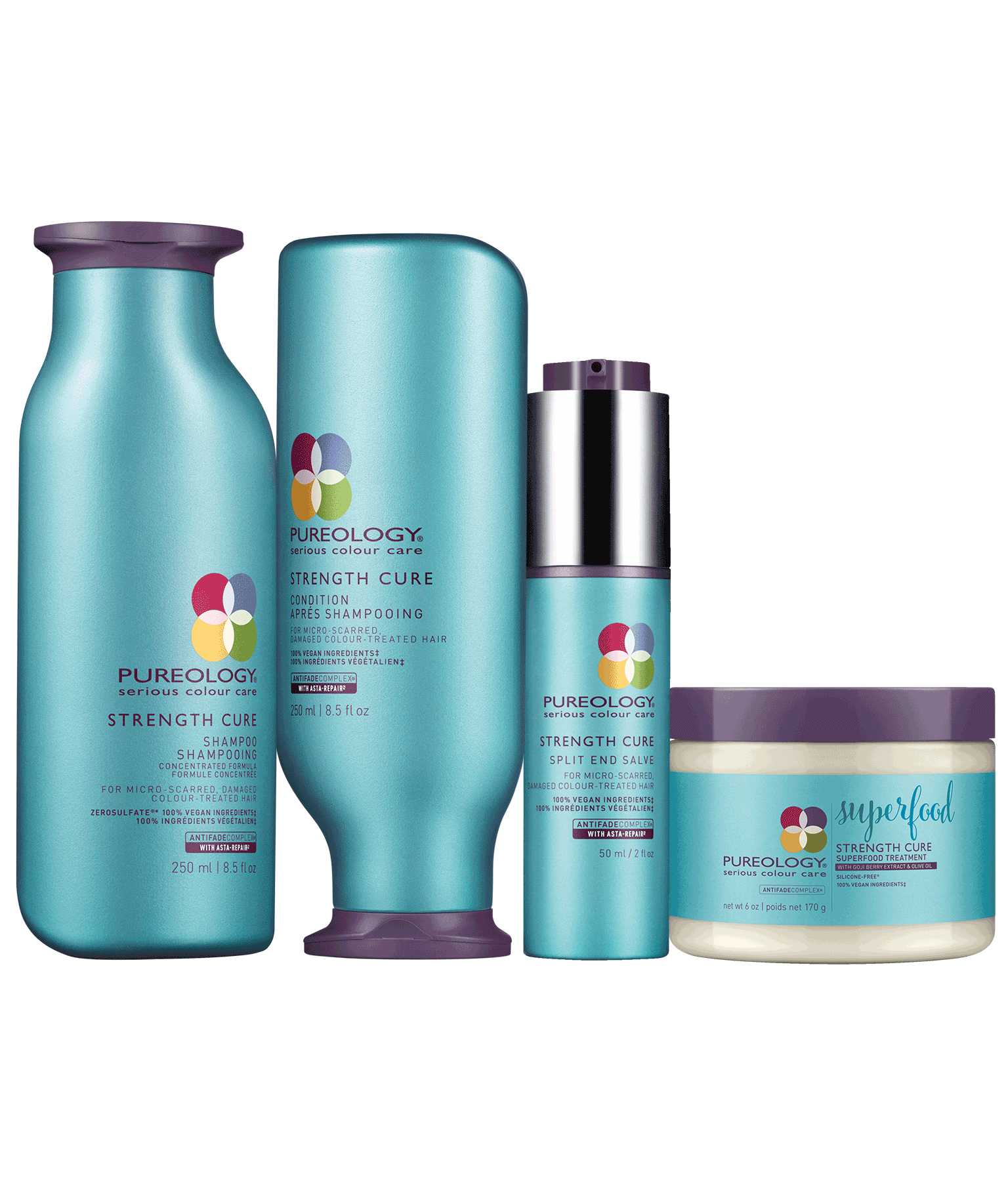 Strengthening Hair Product Set For Damaged Colored Hair Pureology
