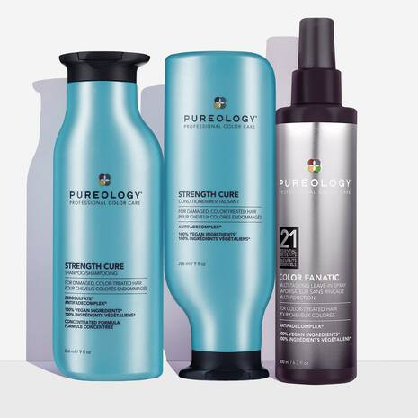 Strength Cure Daily Damage Protection Hair Care Set