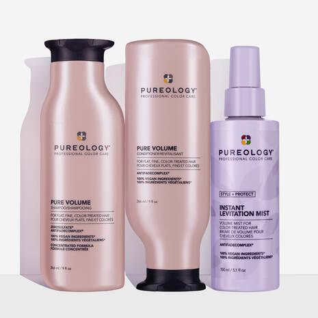 Pure Volume Lightweight Volumizing Hair Care Set