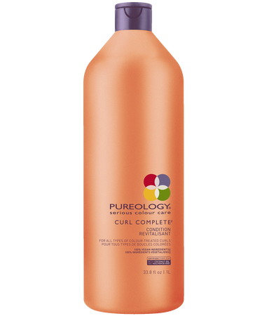 Curl Complete Detangling Conditioner Liter For Curly, Color-treated Hair