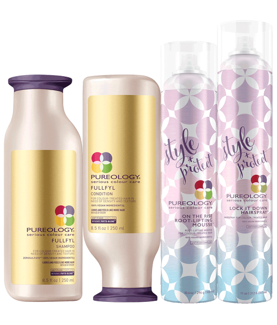 Best Blowout Hair Product Set For Fuller Hair Pureology