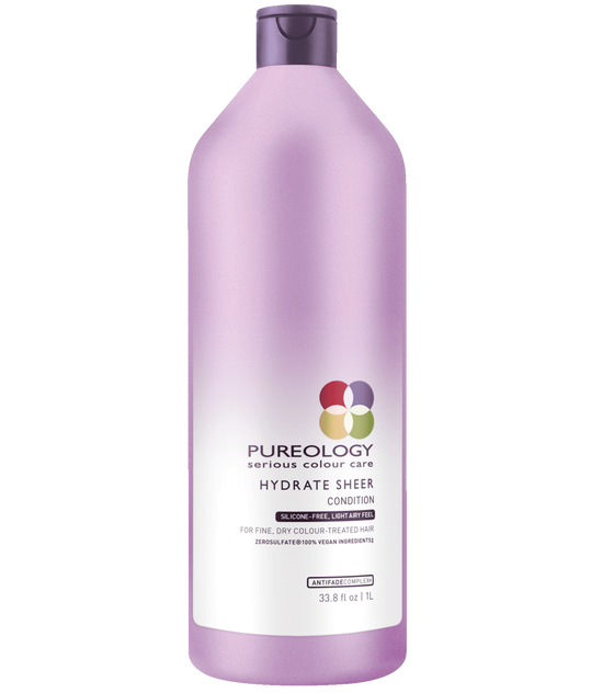 Hydrate Sheer Conditioner Liter For Fine, Color Treated Hair