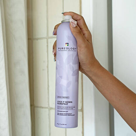Style + Protect Lock It Down Hairspray