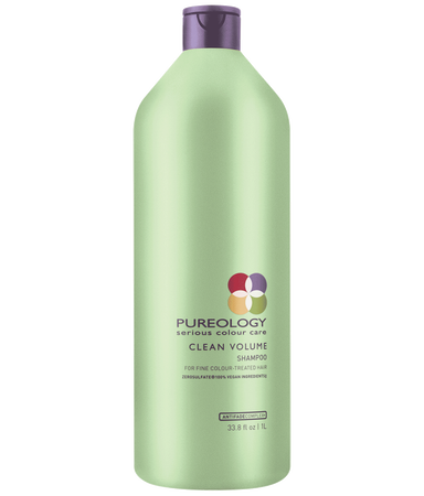 Clean Volume Volumizing Shampoo Liter For Fine Hair