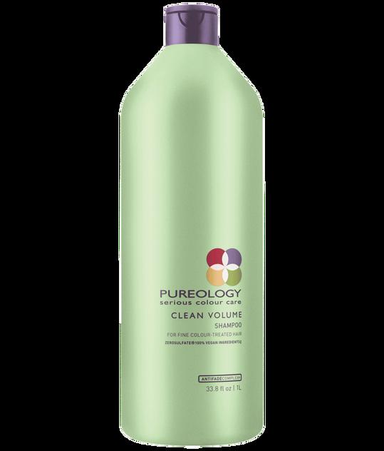 Clean Volume Volumizing Shampoo Liter For Fine Hair