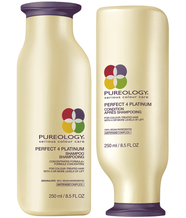 Perfect 4 Platinum Sulfate Free Shampoo And Conditioner Duo