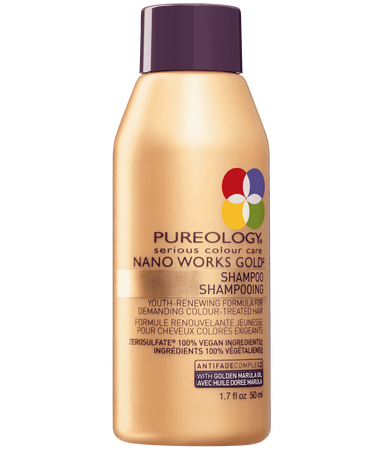 Travel Size Nano Works Gold Shampoo For Aging Hair