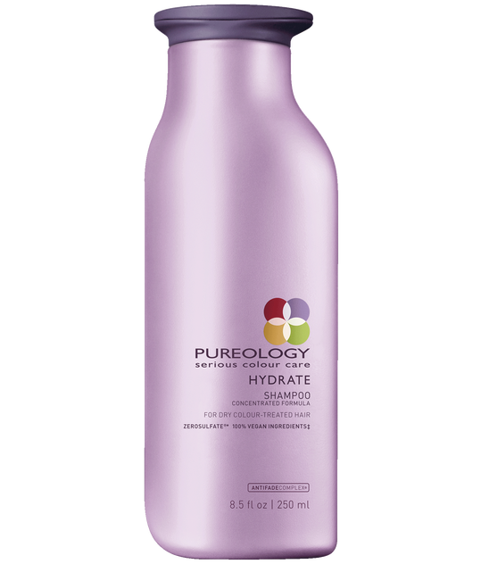 Pureology Hydrate Moisturizing Sulfate-Free Shampoo for Dry, Color-treated Hair