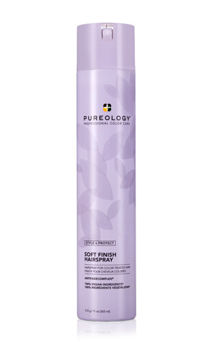 Pureology Soft Finish Flexible Hold Hairspray for Color-treated Hair