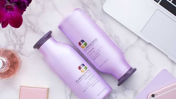 hydrate shampoo and conditioner background